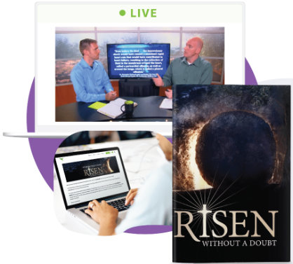 Risen Without a Doubt materials. Click for info.